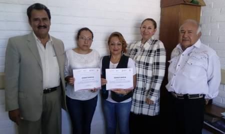 Entregan en Tizayuca apoyos del Programa de Capacitación en Micro y Pequeñas Empresas2