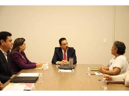 Establecen una agenda conjunta el gobernador de Hidalgo y la titular del INAPAM2