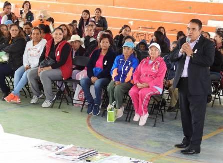 Feria de la Salud para la prevención del Cáncer de Mama en Tolcayuca3