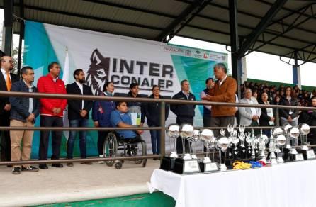 Gabriel García Rojas participa en la celebración del 35 Aniversario del CONALEP plantel Tizayuca8