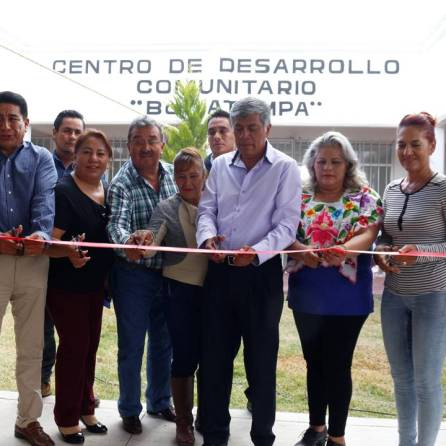 Habitantes del Barrio de Atempa ya cuentan con CDC1