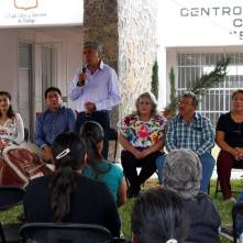 Habitantes del Barrio de Atempa ya cuentan con CDC3