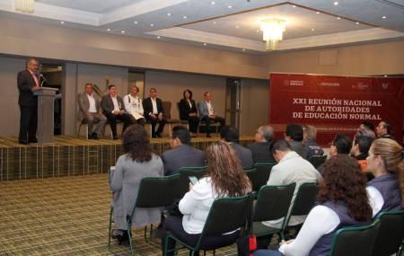 Hidalgo es sede de la XXI Reunión Nacional de Autoridades de Educación Normal1