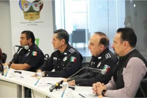 Hidalgo y Puebla inician trabajos de coordinación interestatal en seguridad