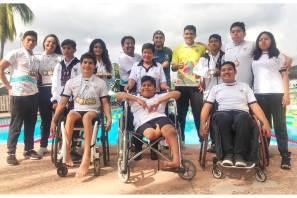 Histórica participación de Hidalgo en la Paralimpiada Nacional 2019-2
