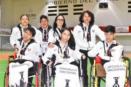 Histórica participación de Hidalgo en la Paralimpiada Nacional 2019