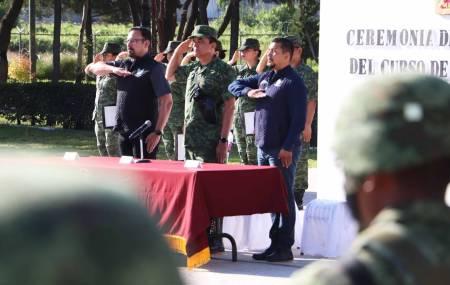 Imparte SSPH curso de defensa personal a 18va Zona Militar1