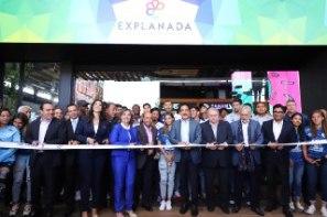 Inaugura gobernador Omar Fayad centro comercial Explanada; generará más de 1,900 nuevos empleos para hidalguenses