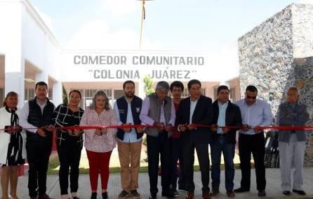 Inauguran Comedor Comunitario en colonia Juárez en Tizayuca3