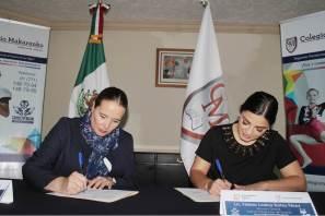 INHIDE y Colegio Makarenko firman convenio de colaboración