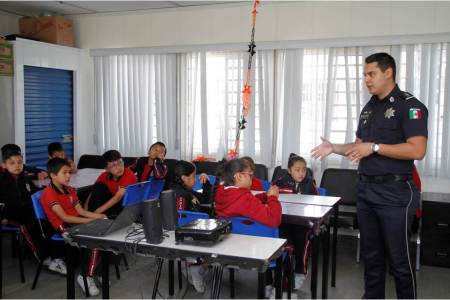 Jornada de Convivencia Escolar, Seguridad y Cultura Vial en la Primaria Esfuerzo Campesino de Pachuca2