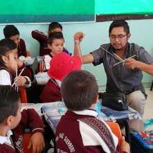 Lleva IMJ de Mineral de la Reforma, talleres artísticos a escuela primaria3