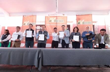 Municipios de la región Tula-Tepeji y Huichapan se suman a campaña Yo Sin Bolsa1