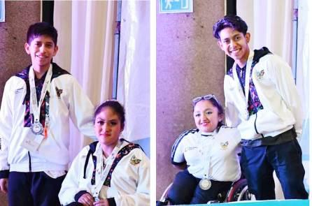 Para danza deportiva suma medallas para Hidalgo en la Paralimpiada Nacional 2019-2
