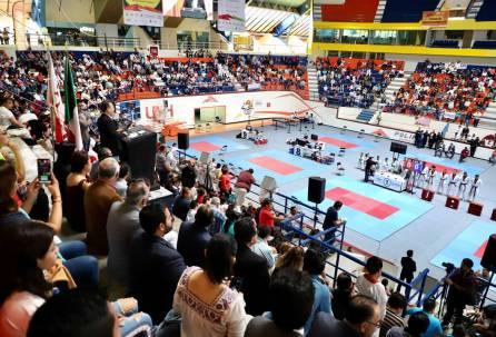 Participan mil 286 deportistas en Copa Hidalguense Universitario de Taekwondo4