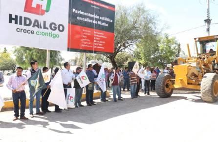 Pavimenta SOPOT calles en comunidad de San Salvador3