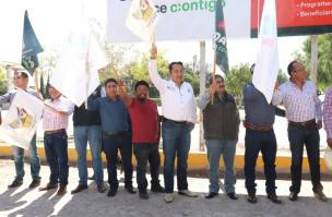 Pavimenta SOPOT calles en comunidad de San Salvador4
