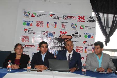 Presentan Primera Copa del Poder Hidaguense de Taekwondo