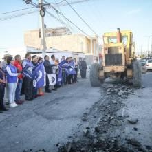 Rául Camacho Baños encabeza banderazo de inicio de obra en Fraccionamiento Los Tuzos 2