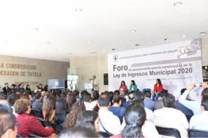 Realiza Congreso Foro de Asesoramiento para Construcción de la Ley de Ingresos Municipal 2020