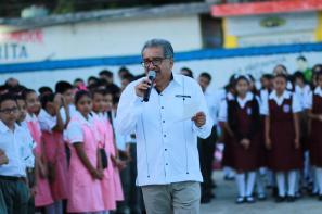 Realiza titular de SEPH visita de supervisión a Servicios Regionales y Secundaria General Héroe Antonio Reyes de Huejutla
