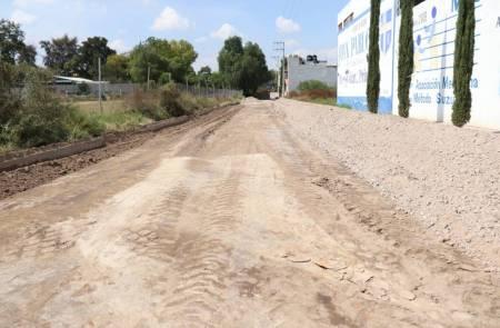 Realizan banderazo de Inicio de obra de Pavimentación Hidráulica en Ixmiquilpan2