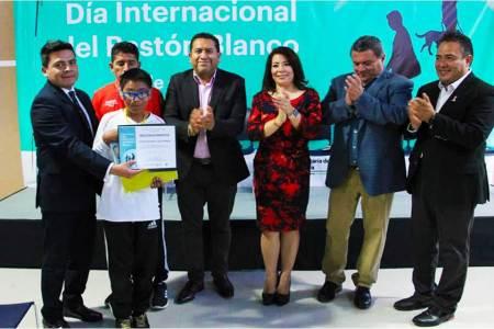 Realizan Circuito Deportivo para personas con Discapacidad Visual