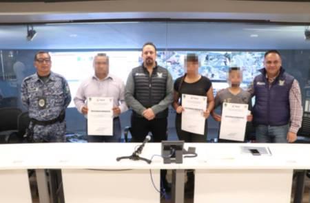 Reconoce SSPH a policías que frustraron  robo a cuentahabiente en Actopan.jpg