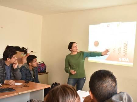 Se capacitan colaboradores del IMJ de Mineral de la Reforma en educación sexual y prevención de enfermedades de transmisión sexual2