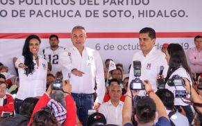 Sergio Baños, nuevo dirigente del PRI en Pachuca