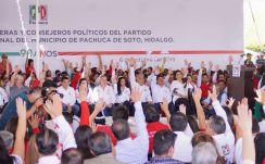 Sergio Baños, nuevo dirigente del PRI en Pachuca4