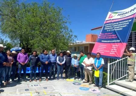 SOPOT mejora infraestructura cultural y educativa en Ixmiquilpan1