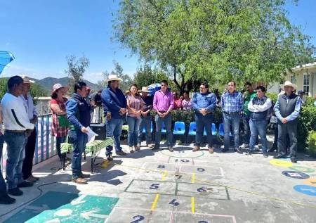 SOPOT mejora infraestructura cultural y educativa en Ixmiquilpan2