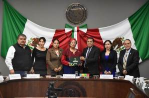 Titular de la Secretaría de Cultura compareció ante diputados del Congreso de Hidalgo
