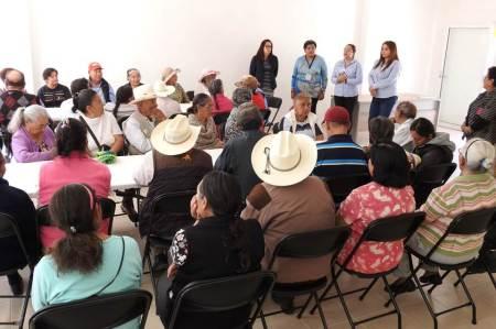 Adultos mayores inician actividades en Casa de Día de Tolcayuca