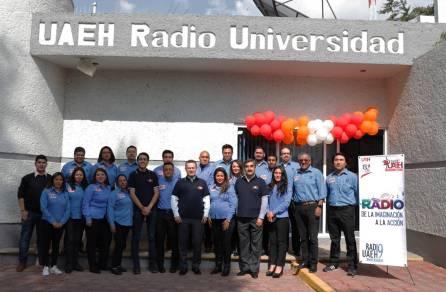 Celebra UAEH 19 años de su primera estación radiofónica1