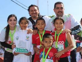 Con gran entusiasmo se llevó a cabo la quinta fecha del tercer serial atlético Dejando Huella en Hidalgo1