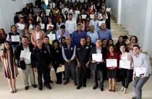 Concluye con éxito en Tizayuca el Programa FORTASEG 2019-4