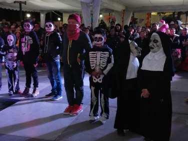 Concurso y desfile de catrinas y catrines en Zempoala14