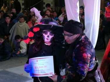 Concurso y desfile de catrinas y catrines en Zempoala6