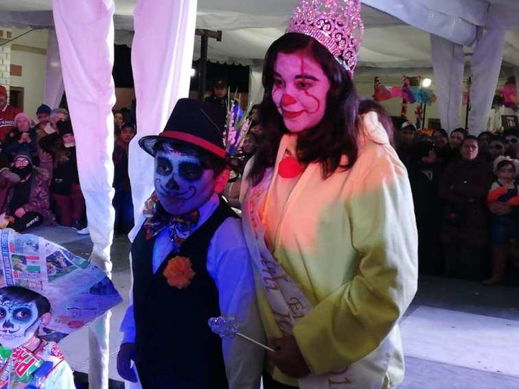 Concurso y desfile de catrinas y catrines en Zempoala9