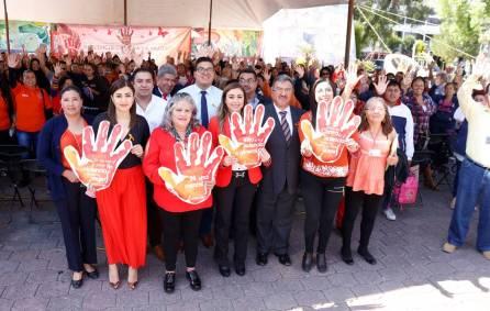 """Conmemoran en Tizayuca el """"Día Internacional de la eliminación de la Violencia contra las Mujeres1"""