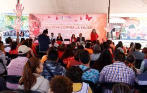"""Conmemoran en Tizayuca el """"Día Internacional de la eliminación de la Violencia contra las Mujeres3"""