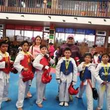 Destaca en competencia Escuela Municipal de Taekwondo Fénix de Mineral de la Reforma3