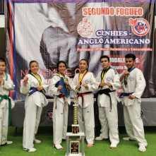 Destaca en competencia Escuela Municipal de Taekwondo Fénix de Mineral de la Reforma4
