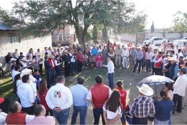 Dirigencia del CDE del PRI realiza gira de trabajo en Huichapan3