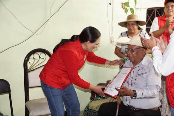 Dirigencia del CDE del PRI realiza gira de trabajo en Huichapan5
