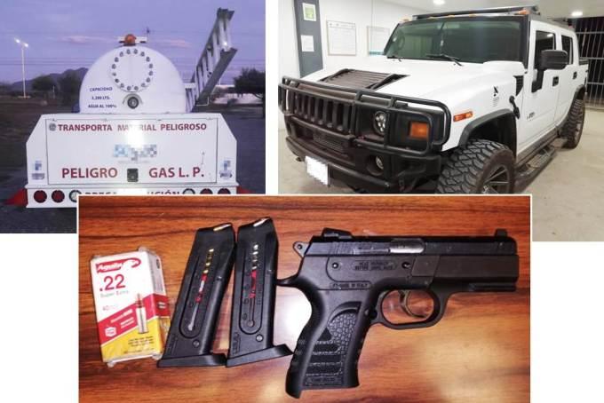 Durante operativos asegura SSPH hombres armados, dinero y probable droga.jpg
