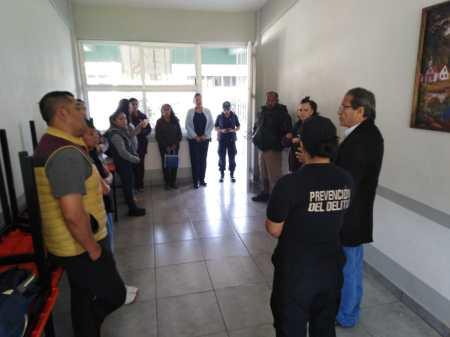 En Tolcayuca realizan operativo mochila en COBAEH