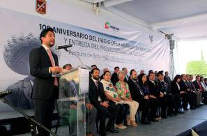 Encabeza el titular de la SEPPE conmemoración del 109 Aniversario de la Revolución Mexicana1